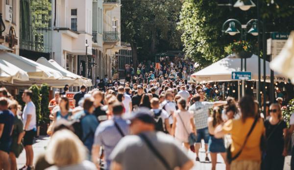 W długi weekend w Trójmieście pojawiło się wielu turystów.