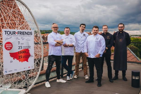 Kolacje zostaną przygotowane w Trójmieście, Warszawie, Krakowie, Poznaniu i Wrocławiu. W każdym mieście do akcji przyłączyło się kilku szefów kuchni.