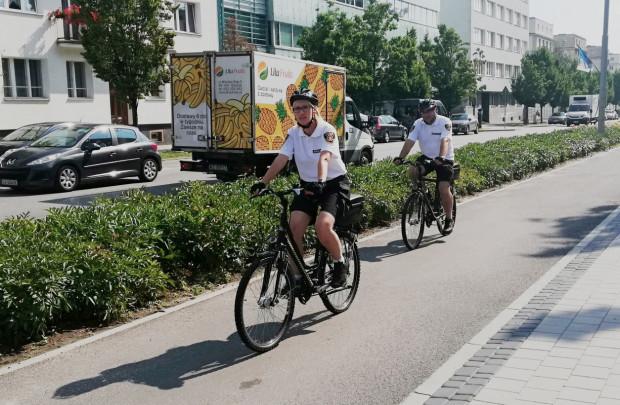 Strażnicy na rowerach będą jeździli przede wszystkim w centrum Gdyni.