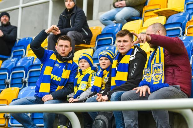Kibice Arki po raz ostatni mogli oglądać swój zespół na Stadionie Miejskim 7 marca w meczu z Wisła Płock. Część z nich wróci na trybuny 23 czerwca na spotkanie z Zagłębiem Lubin.