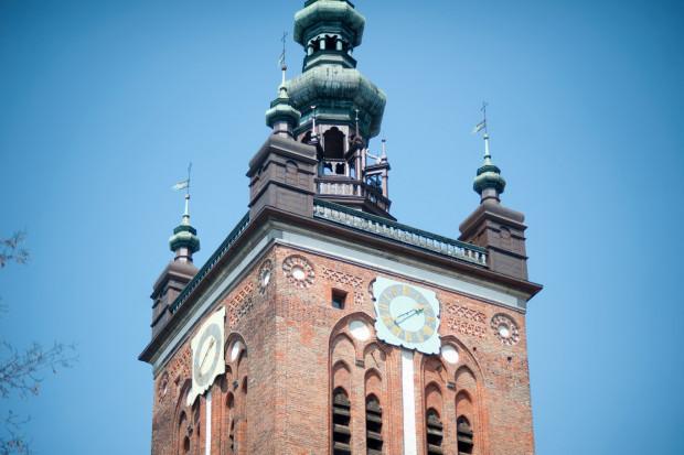 Hełm wieży kościoła św. Katarzyny w Gdańsku.