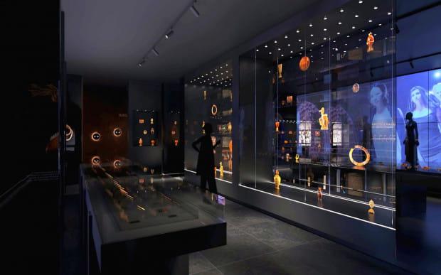 Tak będzie prezentować się nowa wystawa w Muzeum Bursztynu po jego przeniesieniu do Wielkiego Młyna w czerwcu 2021 r.