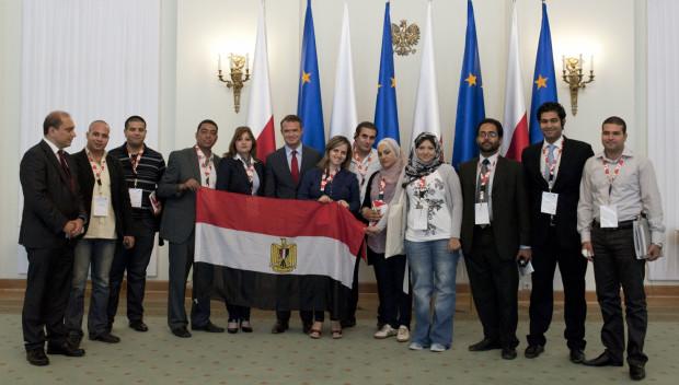 W Warszawie opozycjoniści byli gośćmi kancelarii prezydenta RP.