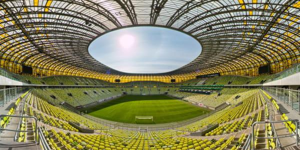 Stadion można zobaczyć też z niecodziennej perspektywy.