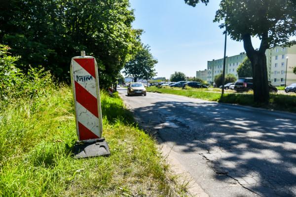 Remont nawierzchni na ul. Płk. Dąbka rozpocznie się w poniedziałek.