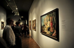 Na wystawie malarstwa włoskiego obejrzymy liczący 53 dzieła wybór malarstwa z przeszło 300 lat. Dominują wśród nich obrazy o tematyce sakralnej.