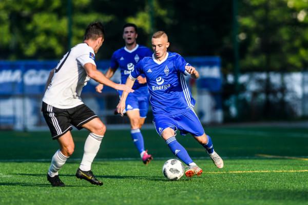Bohaterem drugiego sobotniego sparingu był Mateusz Gułajski, który strzelił dwa gole z Huraganem Morąg.