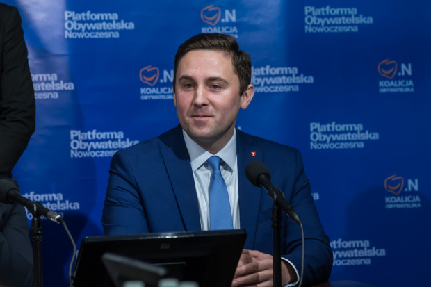 Piotr Borawski, wiceprezydent Gdańska i członek PO, był zaangażowany w kampanię Rafała Trzaskowskiego.