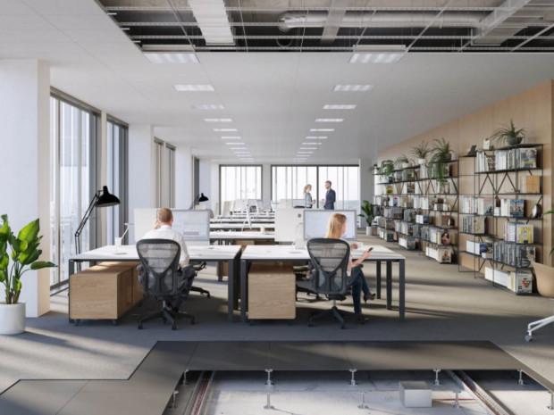 Wewnątrz znajdą się przestrzenie biurowe, usługowe, handlowe i hotelarskie.