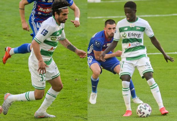 Kenny Saief (z lewej) wypożyczony jest do Lechii Gdańsk z Anderlechtu Bruksela, a Ze Gomes z Benfiki Lizbona.