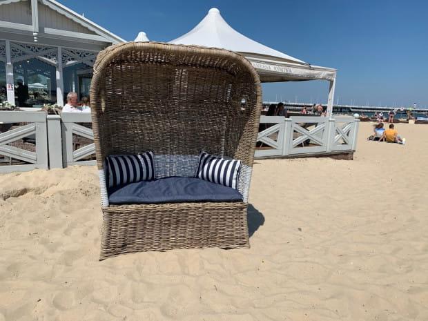 Od 1 lipca na sopockiej plaży będzie można korzystać z wygodnych koszy plażowych. W sumie w sezonie letnim pojawi się ich 50.