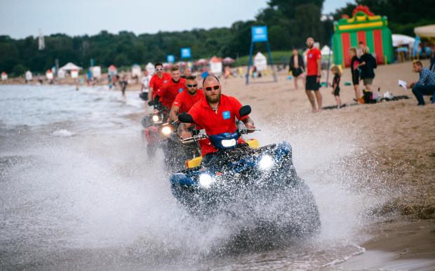 Ratownicy na plażach będą mieli do dyspozycji m.in. quady.