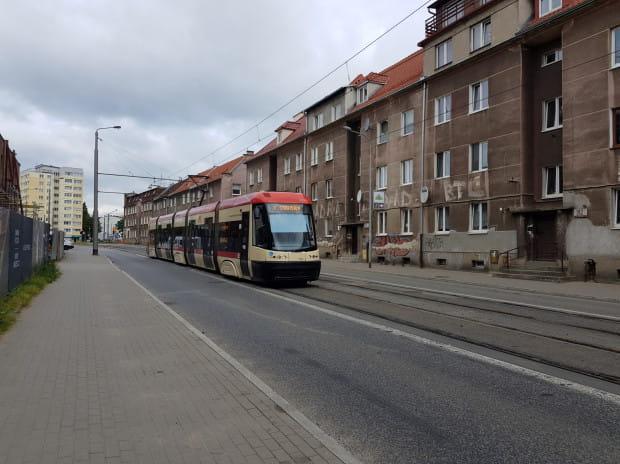 Radni dzielnicy chcieliby, by na ul. Mickiewicza powstało zielone torowisko.