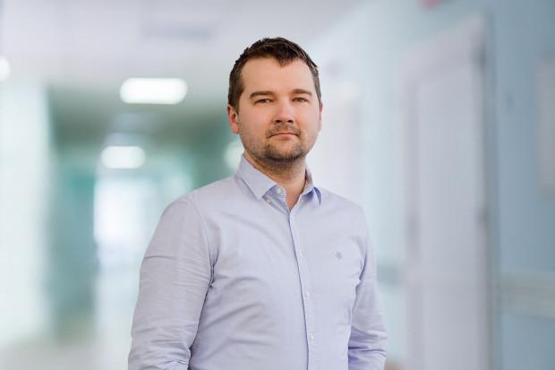 lek. Marcin Mikulicz, specjalista ortopedii i traumatologii narządu ruchu w Carolina Medical Center w Gdańsku