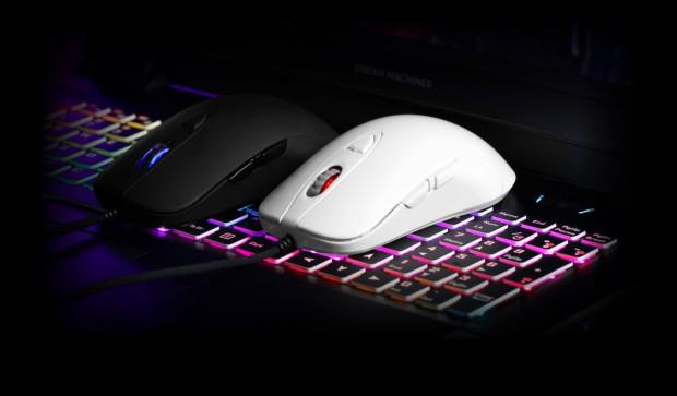 Wśród producentów myszek mamy oprócz SPC Gear innego polskiego reprezentanta - Dream Machines. Ich popularne myszki DM1 FPS to świetne rozwiązanie dla osób z chwytem claw i palm grip.