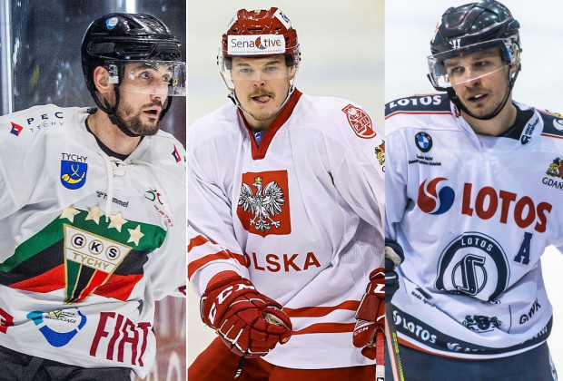 Od lewej: Adam Bagiński, Aron Chmielewski i Szymon Marzec. Wychowankowie Stoczniowca Gdańsk wysłali nam swoje stanowiska odnośnie aktualnej sytuacji w gdańskim hokeju.