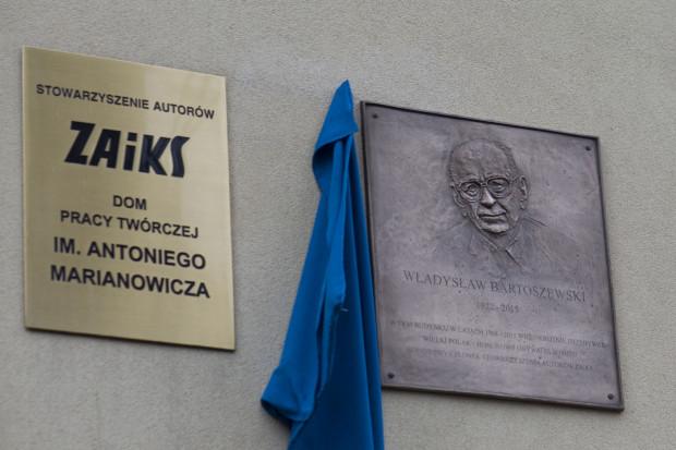 W Sopocie istnieje już tablica upamiętniająca Władysława Bartoszewskiego.