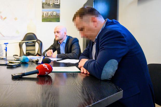 Grzegorz H., długoletni prezes SM Ujeścisko został zatrzymany.