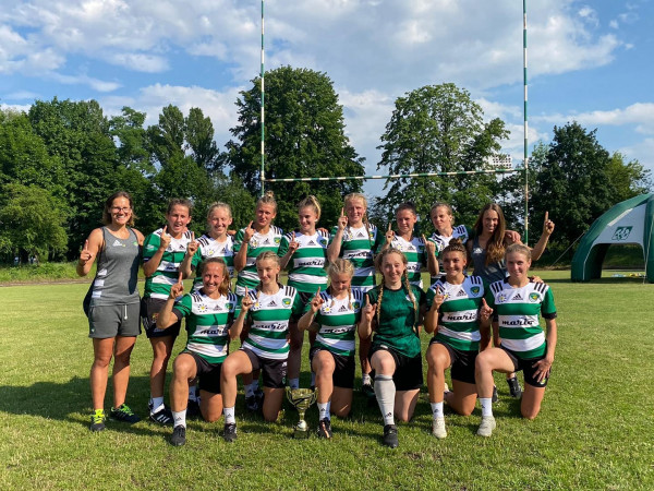 Biało-zielone Ladies Gdańsk zdobyły 10. z rzędu tytuł mistrza Polski.