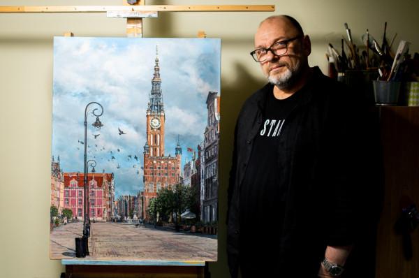 Gdańsk zajmuje ważne miejsce w życiu i twórczości Janusza Kulikowskiego.