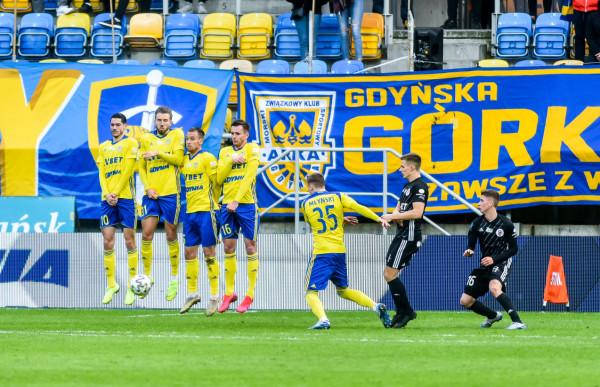 Arka Gdynia miała zbyt dużo mankamentów zarówno w grze ofensywnej jak i defensywnej, co uwypuklają ligowe statystyki.
