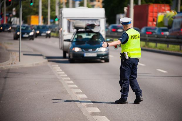 Pięciu kierowców, prowadzących bez uprawnień, zatrzymali jednego dnia policjanci z gdańskiej drogówki.