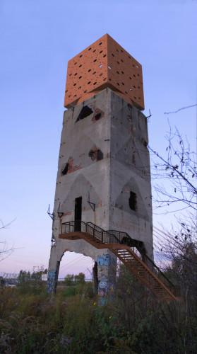 Wizualizacja koncepcyjna. Wieża nadal służyć miałaby wspinaczce, jednak zyskałaby cechy wieży widokowej.