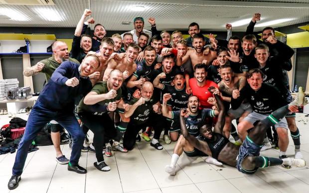 Lechia Gdańsk - finaliści Totolotek Puchar Polski 2020 po zwycięskim boju w Poznaniu.