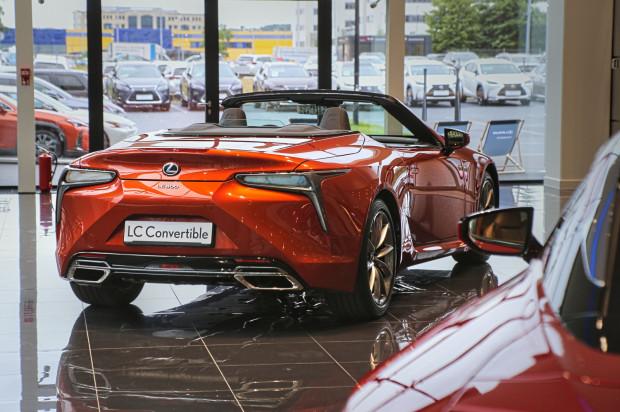 Nowy Lexus LC 500 Convertible