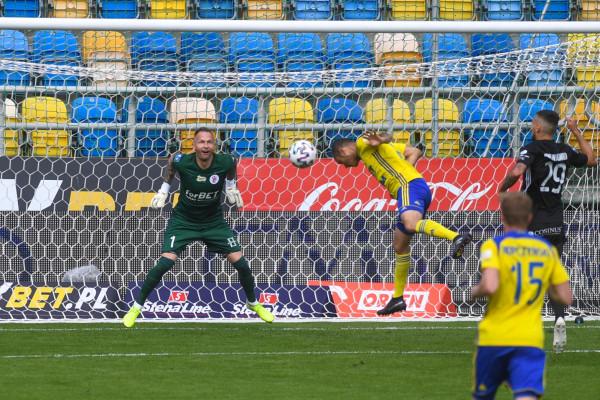 Tak Marcus strzelił 54. gola w meczu numer 201 w barwach Arki Gdynia.