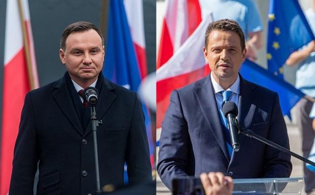 W drugiej turze wyborów prezydenckich Andrzej Duda (PiS) zmierzył się z Rafałem Trzaskowskim (KO).