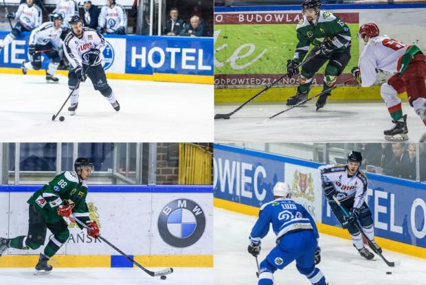 Filip Pesta (po lewej, górne zdjęcie), Maciej Rybak (po prawej u góry) i Michał Rybak (po lewej na dole) zagrają w Stoczniowcu. W Gdańsku nie zamierza zostawać Igor Smal (po prawej na dole).