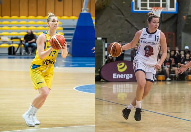 Maryja Papowa (z lewej) odeszła po roku z Arki Gdynia. Po takim samym czasie do Politechnika Gdańskiej wraca natomiast Martyna Pyka (z prawej).