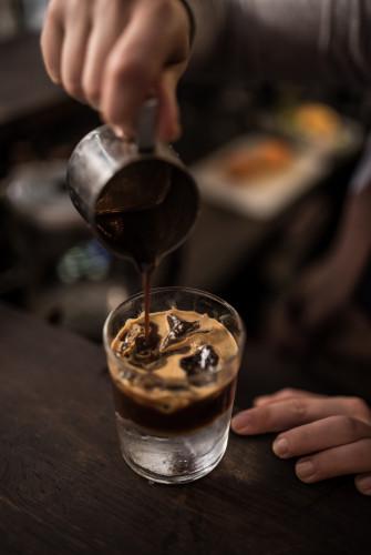 W kawiarni Leń odbywają się też warsztaty baristów.
