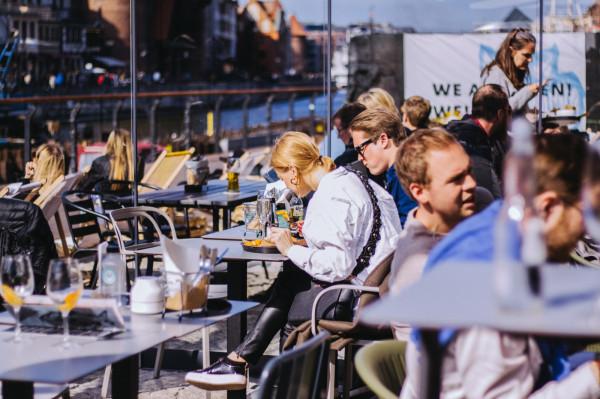 Słony Spichlerz jako pierwszy w Trójmieście połączył pod jednym dachem wielu restauratorów.