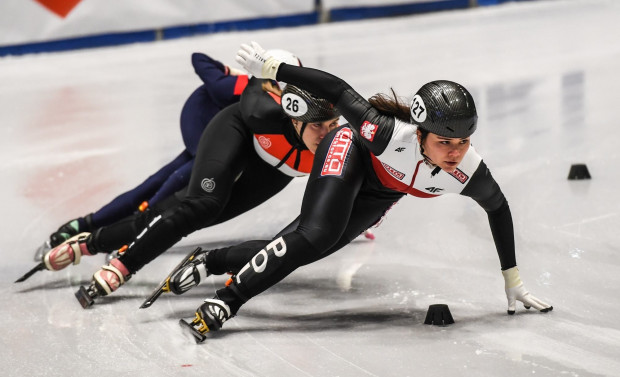 Gospodarze mistrzostw Europy liczą, że wystartują dwie łyżwiarki Stoczniowca Gdańsk, w tym Nikola Mazur (na zdjęciu).