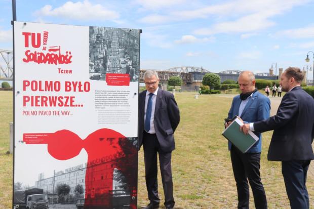 W woj. pomorskim wystawa stanęła m.in. w Tczewie.