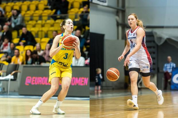 Angelika Slamova (z lewej) zostaje w Arce Gdynia. Jowita Ossowska (z prawej) przedłużyła umowę z Politechniką Gdańsk.