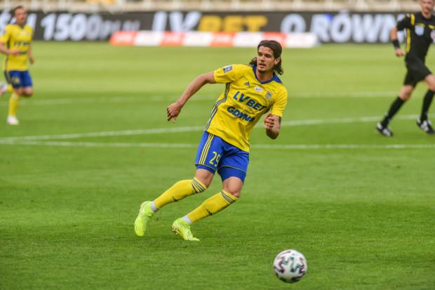 Oskar Zawada, który jest wypożyczony z Wisły Płock, strzelił pierwszego gola w barwach Arki Gdynia, który okazał się na wagę zwycięstwa na pożegnanie ekstraklasy.