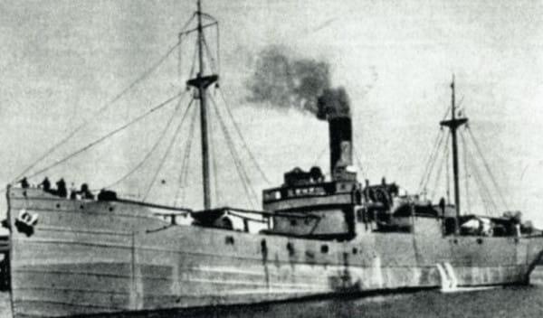 SS Kromań, statek dowodzony przez kapitana Tadeusza Dybka.