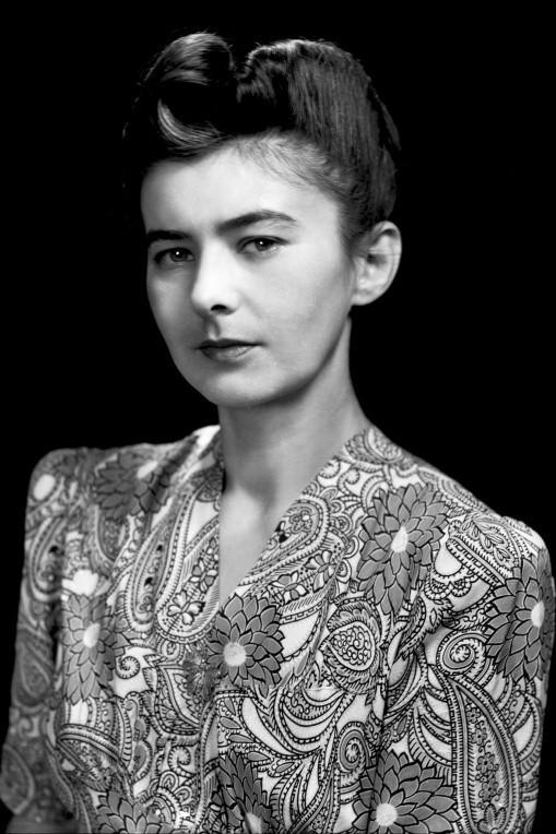 Irena Dybek, żona kapitana SS Kromań Tadeusza Dybka.