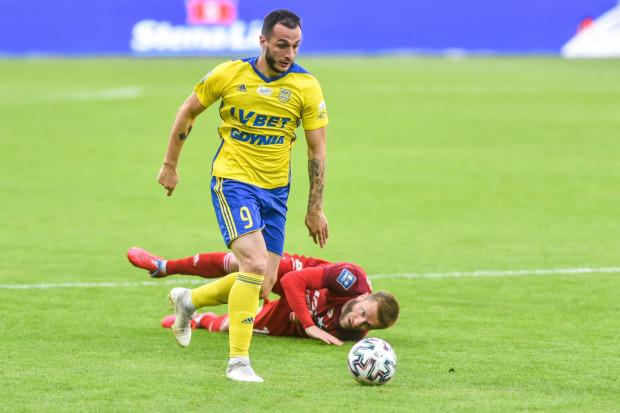 Davit Skhirtladze strzelił cztery gole dla Arki Gdynia w minionym sezonie. Dokładnie z tą liczbą bramek był najlepszym strzelcem zespołu przed doznaniem kontuzji w listopadzie.