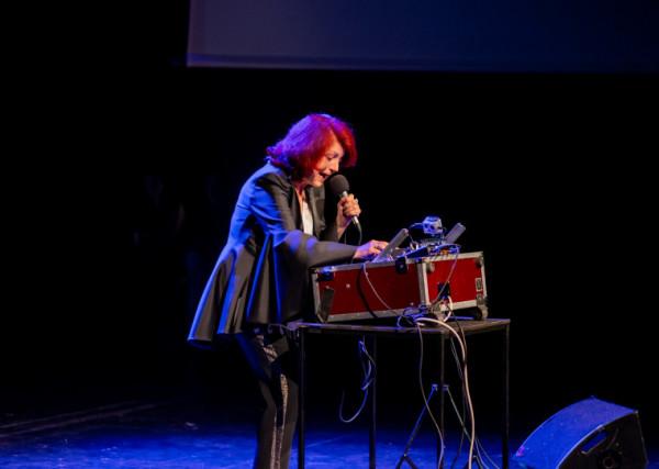 Urszula Dudziak wprawiła w zachwyt publiczność nie tylko swoją muzyką, ale i osobowością.