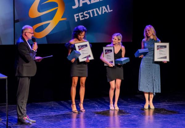 Natalia Capelik-Muianga, Kinga Hornik oraz Dominika Czajkowska-Ptak otrzymały trzy równorzędne nagrody Grand Prix Ladies'Jazz.