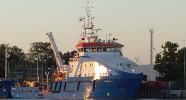 Zodiak II to jedna z najnowszych jednostek Urzędu Morskiego. Niewykluczone, że tam trafią komponenty przygotowane przez naukowców z PG.