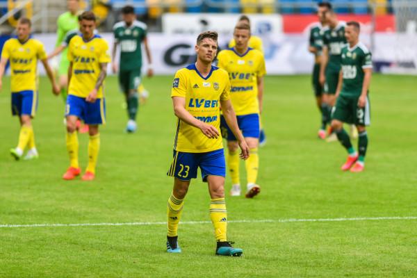 Luka Marić rozegrał 45 meczów dla Arki Gdynia w ciągu dwóch lat.