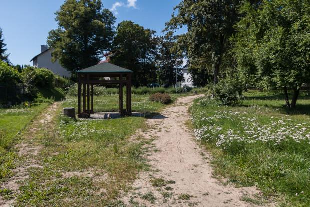 Park Kabata na Jasieniu.