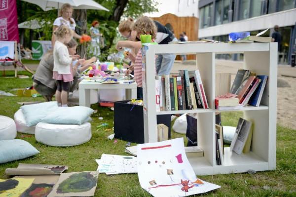 Promocja książek dla dzieci jest co roku ważnym punktem Pleneru Literackiego.