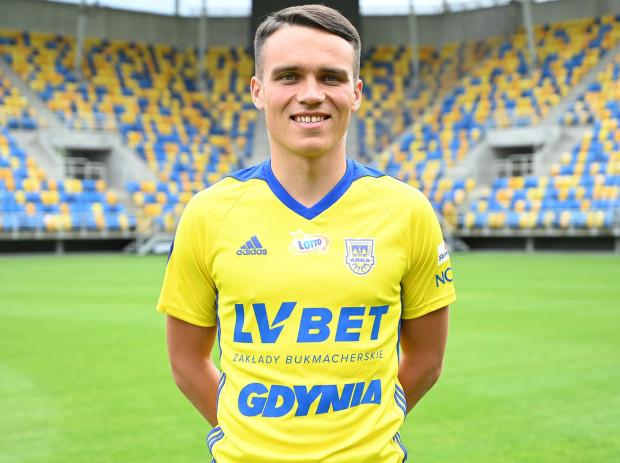 Szymon Drewniak podpisał dwuletni kontrakt z Arką Gdynia.
