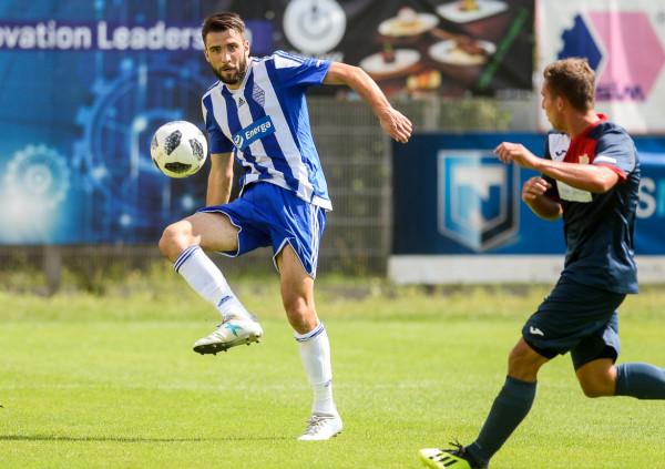 Michał Marczak ma być snajperem Bałtyku Gdynia. Podczas poprzedniego pobytu w tym klubie strzelił 18 goli w 45 meczach w trakcie 1,5 roku.